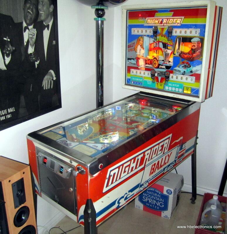 Bally Night Rider EM Pinball Machine