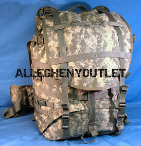 USGI-Military-Army-ACU-Digital-MOLLE-II-RUCKSACK-Complete-Back-Pack-NICE