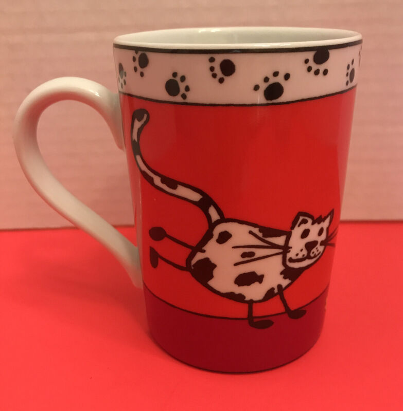 Konitz Cat Collectible 8 Oz Coffee Tea Mug Made in Germany Great Cat Lover Gift