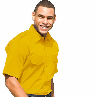 Edwards Garment Big & Tall Men's Moisture Wick Short Sleeve