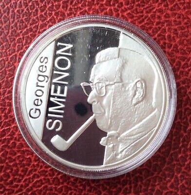 Belgique - Albert II - Monnaie Proof de 10 Euros 2003  en argent -QP - SIMENON
