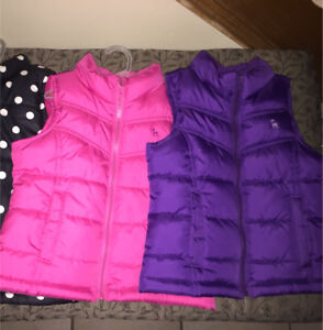 Girls vests: Size 5 each $5/each