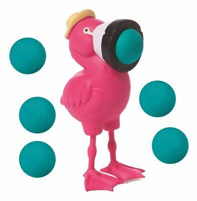 Hog Wild Toys Flamingo Popper Shoot Foam Balls - 6 Balls - Popper Toy
