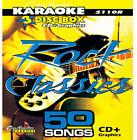 Rock Karaoke CDGs, DVDs and Media