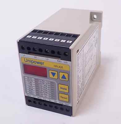Unipower Hpl420 Digital Power Monitor For Ac Motors 4-20ma Out 400 Ohm Max Load