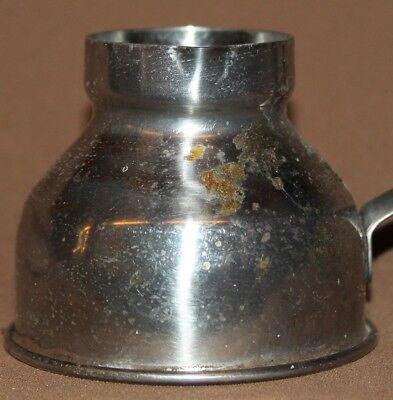 Vintage small metal coffee pot
