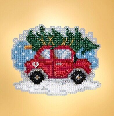 Mill Hill - Winter Holiday - Tree Shopping - Cross Stitch Kit -