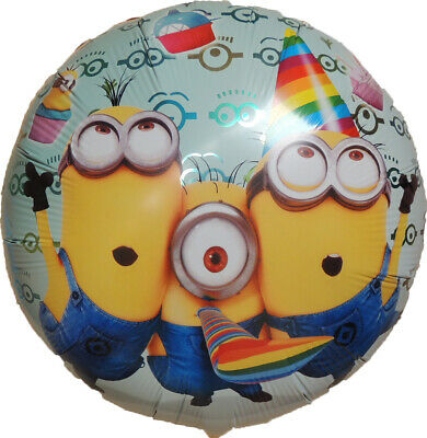 3 MINIONS BALLOONS BIRTHDAY PARTY SUPPLIES - Clearance Party Supplies