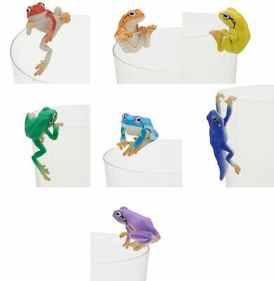 Capsule PUTITTO Tree Frog Rainbow all seven types of kitan club Japan