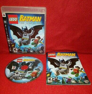 LEGO Batman: The Videogame (Sony PlayStation 3 PS3, 2008)