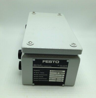NEW FESTO VALVES 31000 AND 6680 IN RITTAL ENCLOSURE KL 1501 510, P/N CMP-15469