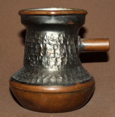 Vintage small copper coffee pot