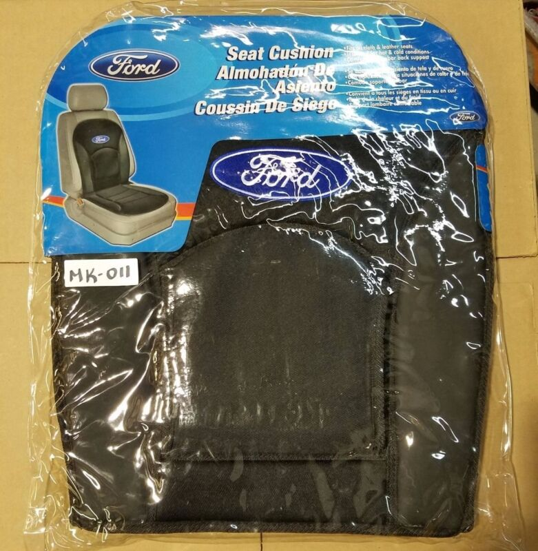 BLACK SEAT CUSHION (FORD), COMFORTABLE LUMBAR BACK SUPPORT, 1 PC (MK-011)