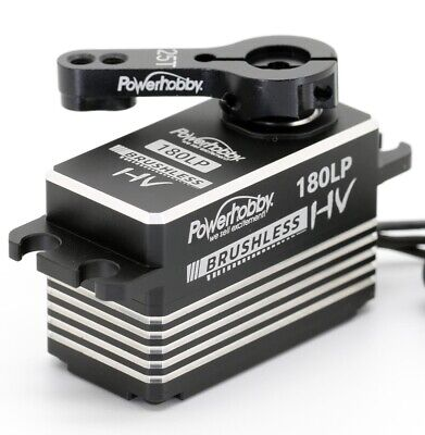 Powerhobby 180LP Low Profile High Speed Brushless Digital High Voltage Servo