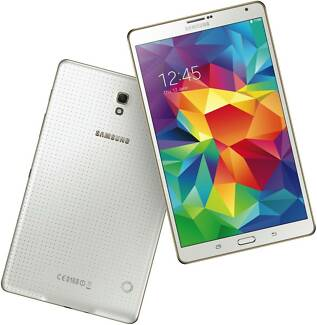 Samsung Galaxy Tab S 16GB white wifi and 4G Sealed Brand New Sydney City Inner Sydney Preview