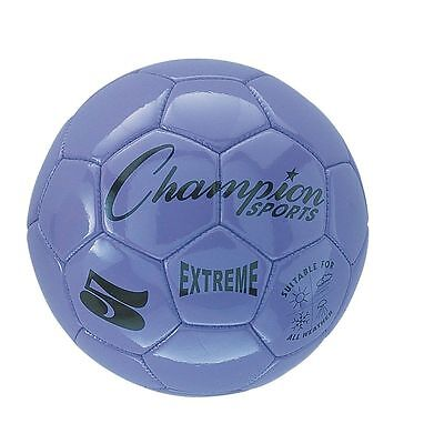Champion Sports Extreme Soft Touch Butyl Bladder Soccer Ball, Size 3, Purple (Soft Soccer Ball)