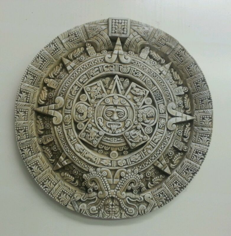 "Aztec calendar 19"""