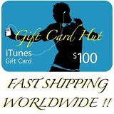 $100 US iTunes Gift Card Voucher Certificate Apple USA iTune *** Super Fast ***