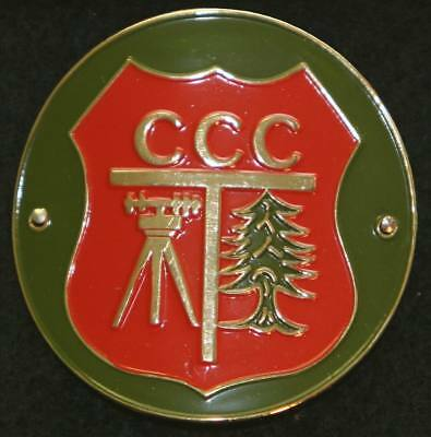 CCC Civilian Conservation Corps walking Stick Hiking Medallion NEW staff