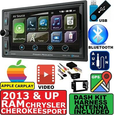 Apple Stereo-system (2013 & UP RAM GPS NAVIGATION SYSTEM APPLE CARPLAY BLUETOOTH USB CAR STEREO)