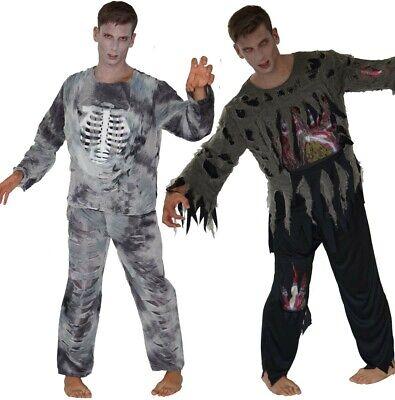 Halloween Kostüme Zombies Skelett Piraten Geist Herren Männer Geisterpirat