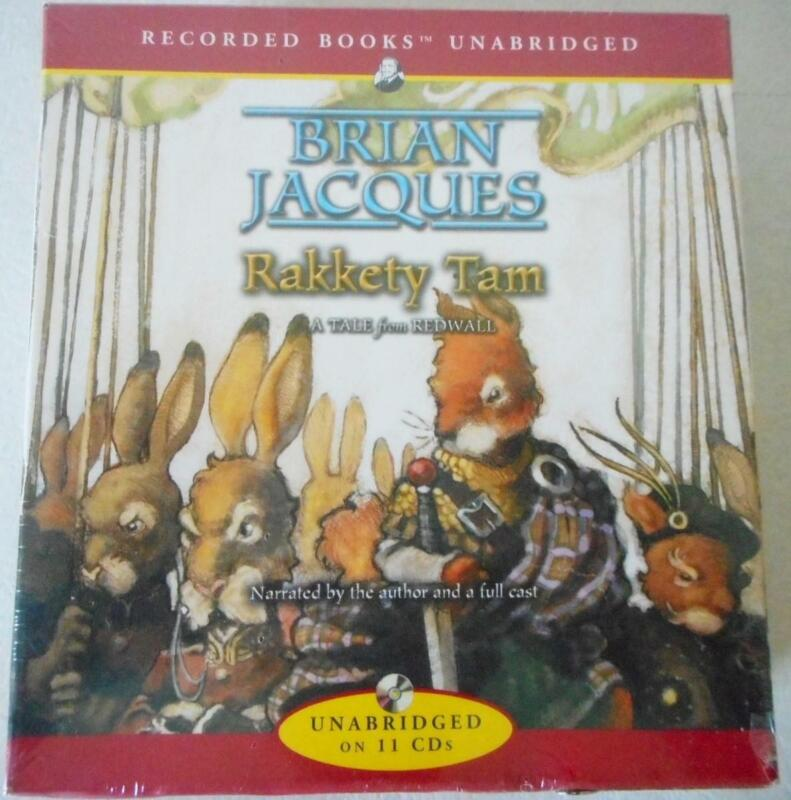 Factory Sealed 2004 RAKKETY TAM by Brian Jacques 11 CD Set