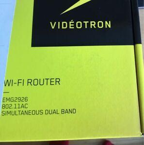 Router. Neuf,  jamais ouvert, reçu de Vidéotron, pas de besoin