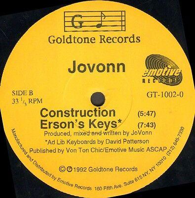 Jovonn    Underground Construction Ep   Goldtone   Gt 1002 0   Usa