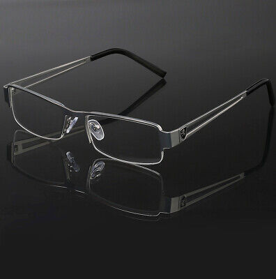 Half Frame Non Prescription Clear Lens Eye Glasses Men Women Small-Medium (Small Face Sunglasses)