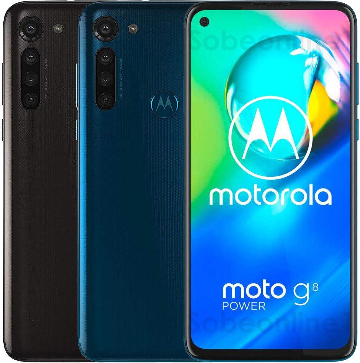 "Motorola Moto G8 Power 64GB 4GB RAM XT2041-1 (FACTORY UNLOCKED) 6.4""  Dual Sim"