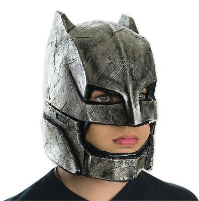 Batman vs Superman Maske Batman Armoured für Kinder - Premium Vollmaske Kostüm ()