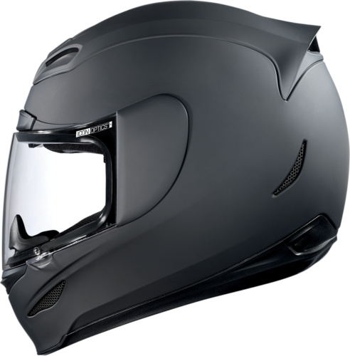 Icon Airmada Rubatone Motorcycle Full Face Helmet Flat Matte Black Large LG