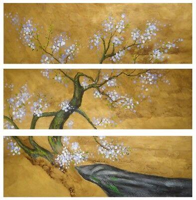 Primavera giapponese quadro - Dipinto a olio telaio in legno