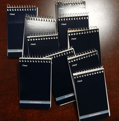 9 Mead Cambridge Writing Pad 3 X 5 Small Memo Book Wirebound Notebook 70sheet