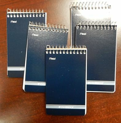 5 Mead Cambridge Writing Pad 3 X 5 Small Memo Book Wirebound Notebook 70sheet