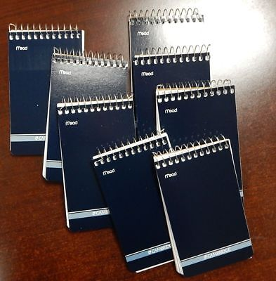 8 Mead Cambridge Writing Pad 3 X 5 Small Memo Book Wirebound Notebook 70sheet