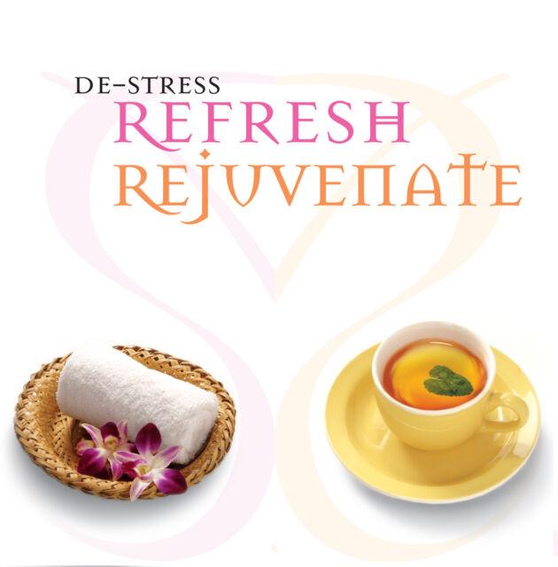 CD DeStress Refresh Rejuvenate - Stressbewältigung 2CDs