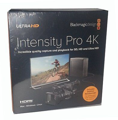 Blackmagic Design Intensity Pro 4K  (BINTSPRO4K) - Stock in Miami