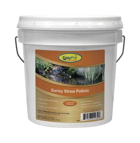 5 Lb Pail EasyPro Barley Straw Pellets - Natural Safe Pond Water Treatment EBP5