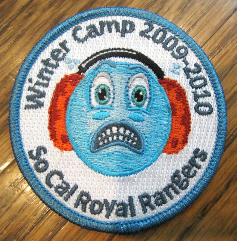 Winter Camp 2009-2010 So Cal California Royal Ranger Uniform Patch