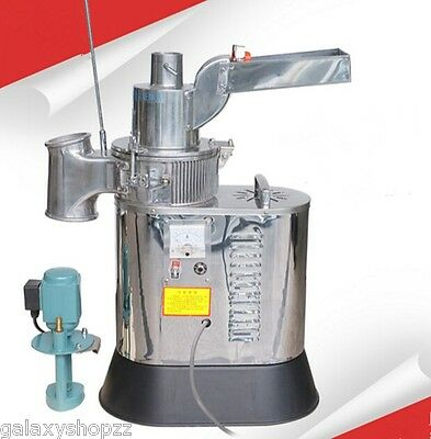 New Automatic Continuous Hammer Mill Herb Grinderpulverizer Machine40kgh