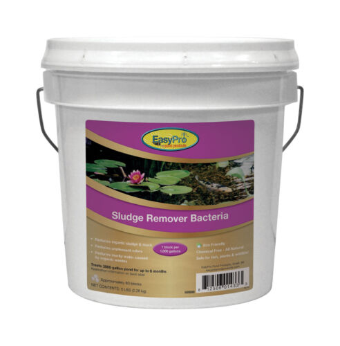 EasyPro SBB80 Sludge & Muck Remover Bacteria Blocks for Ponds Up to 1 Acre
