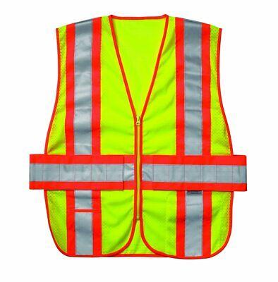 CLC Hi-Vis Gear High Visibility Safety Vest Ansi Class 2 SV28X2 2XL - 5XL Expand