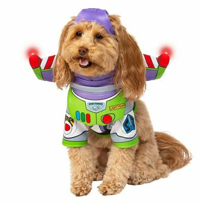 Rubies Disney Toy Story Buzz Lightyear Pets Dogs Animal Halloween Costume 200188 (Halloween History Animation)