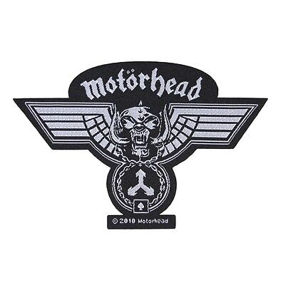 "War-Pig Medal ""Motorhead"" Patch Hammered Art Heavy Metal Music Sew-On Applique"