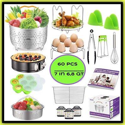 Multi Use Electric Pressure Cooker Rice Steamer Instant Pot 8 Quart Accessories