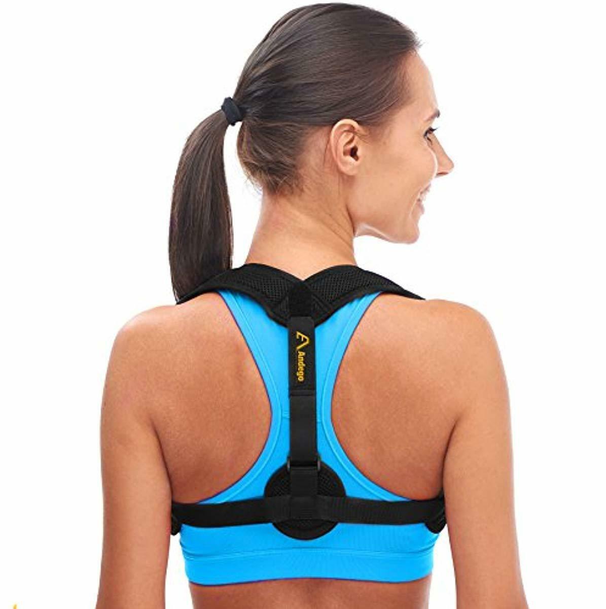 Andego Back Posture Corrector for Women & Men - Discreet Des