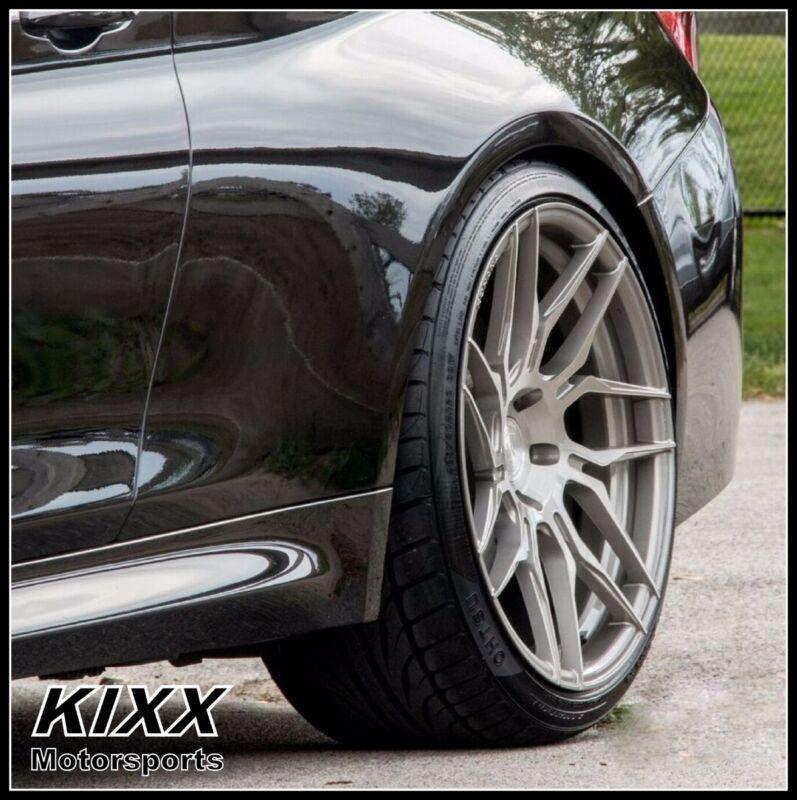 """20"""" Rohana Rfx7 20x9 20x10 Forged Titanium Concave Wheels Lexus Rcf"""