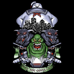 Ghostbusters-Stay-Puft-Marshmallow-Man-Slimer-Strange-Neighborhood-Shirt-Mens-LG