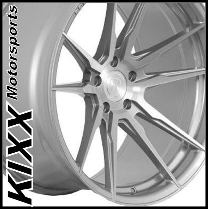 "20"" Rohana Rf2 20x9+20 20x12+50 Titanium Concave Wheels Chevy Corvette  Zr1 Z06"